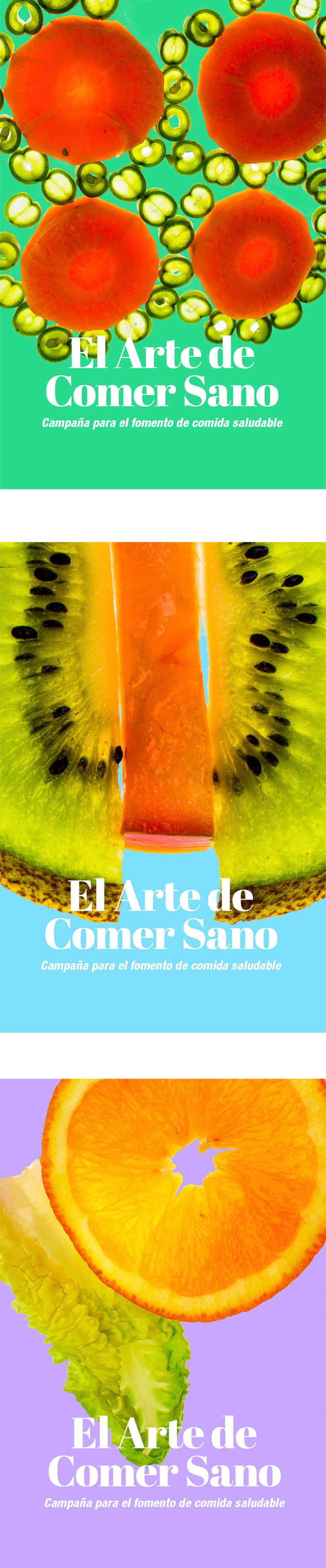 El arte ce comer sano/ Campaña publicitaria -1