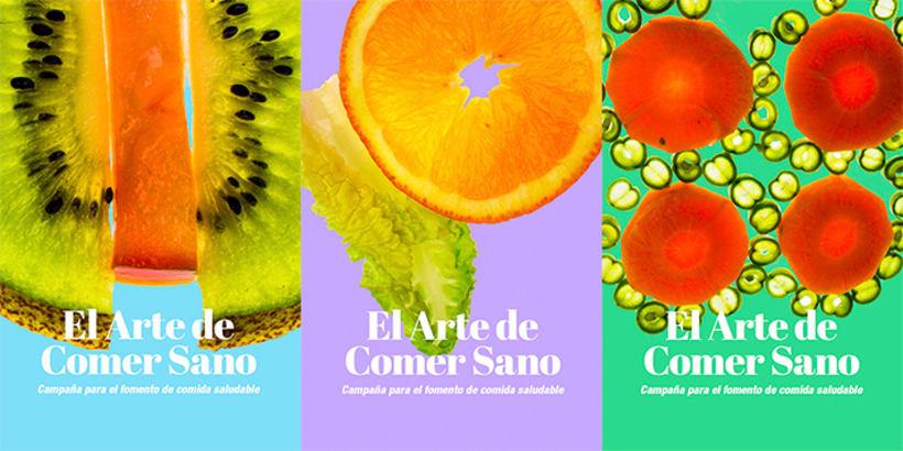 El arte ce comer sano/ Campaña publicitaria 0