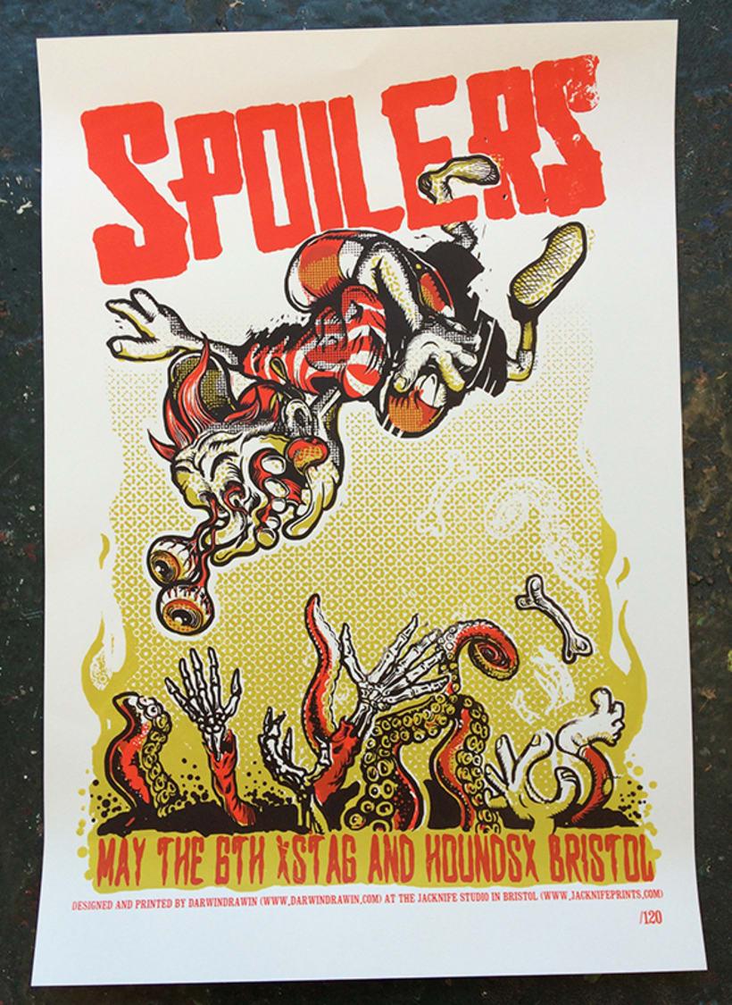 Posters serigrafiados edición limitada Jacknife Studio 0