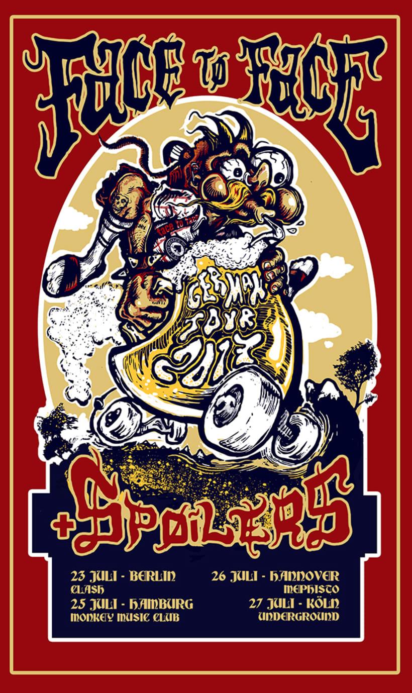 Posters serigrafiados edición limitada Jacknife Studio 2