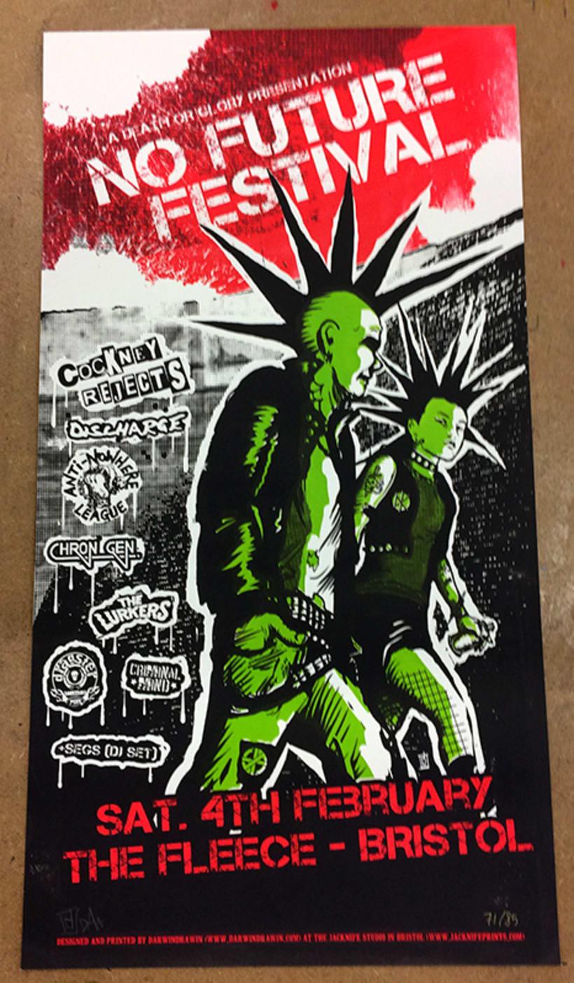 Posters serigrafiados edición limitada Jacknife Studio 4