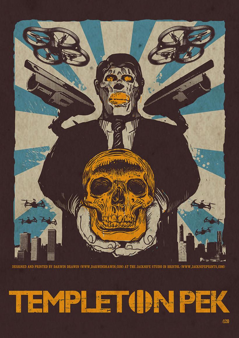 Posters serigrafiados edición limitada Jacknife Studio 6