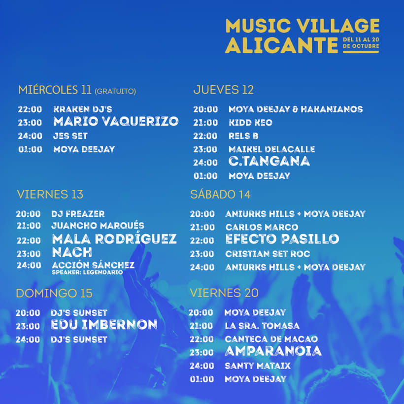 Music Village Alicante 2017 8