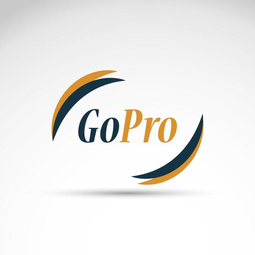 Rediseño Logo GoPro - Poster - Email Marketing -1