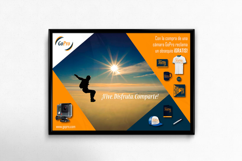 Rediseño Logo GoPro - Poster - Email Marketing 0