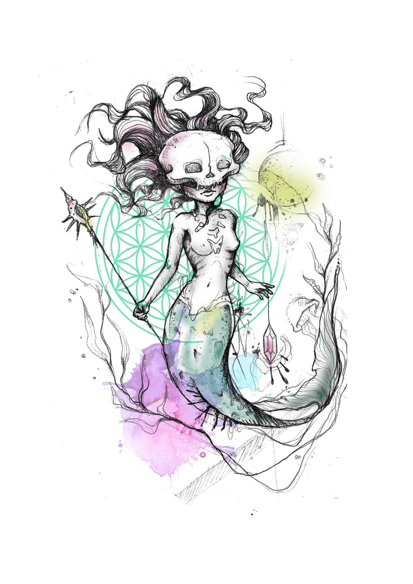 Vómitos creativos; Diseños para tatuar 1