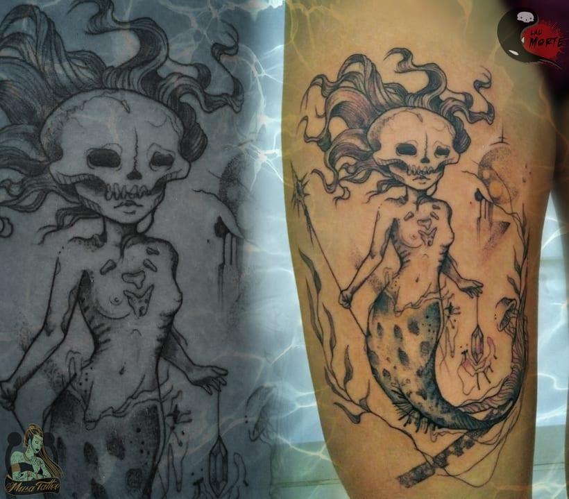 Vómitos creativos; Diseños para tatuar 6