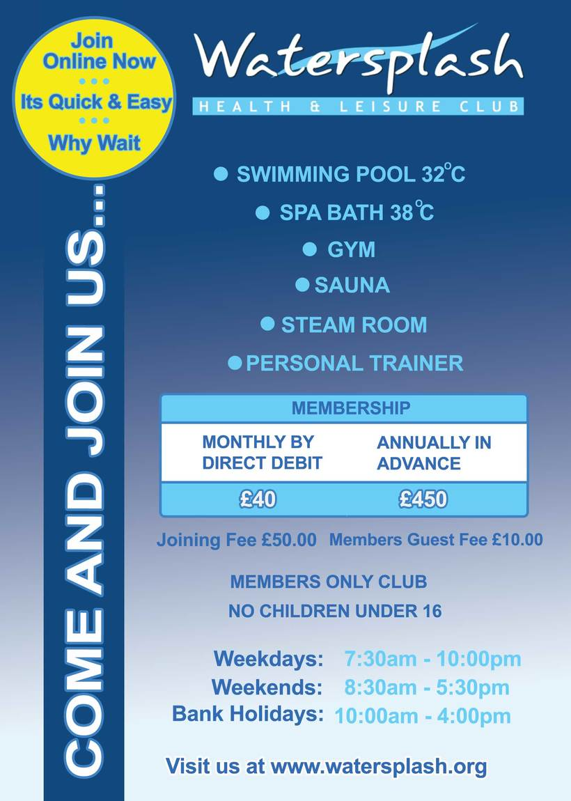 New flyer design for a fitness spa 0