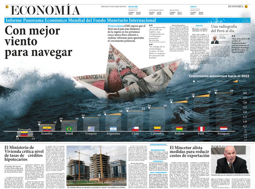 """Infografia y Diseño Editorial - Periodico Local """"Comercio""""  0"""