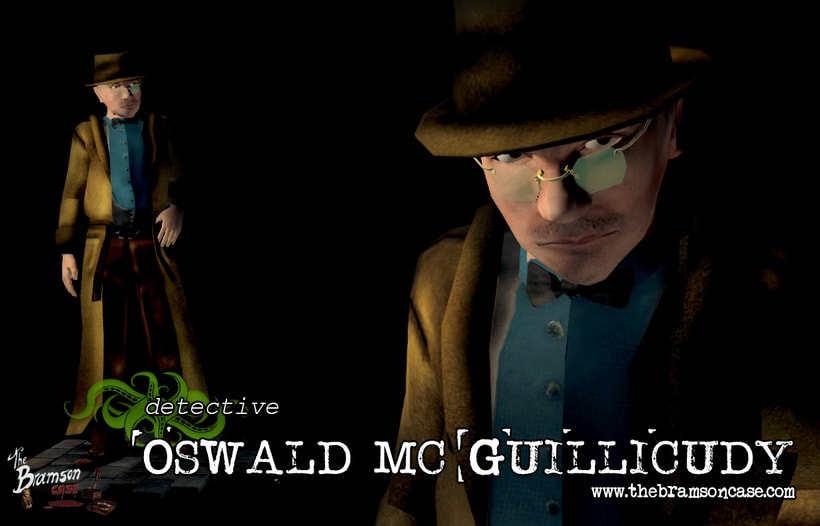 Detective Oswald Mc Guillicudy  -1