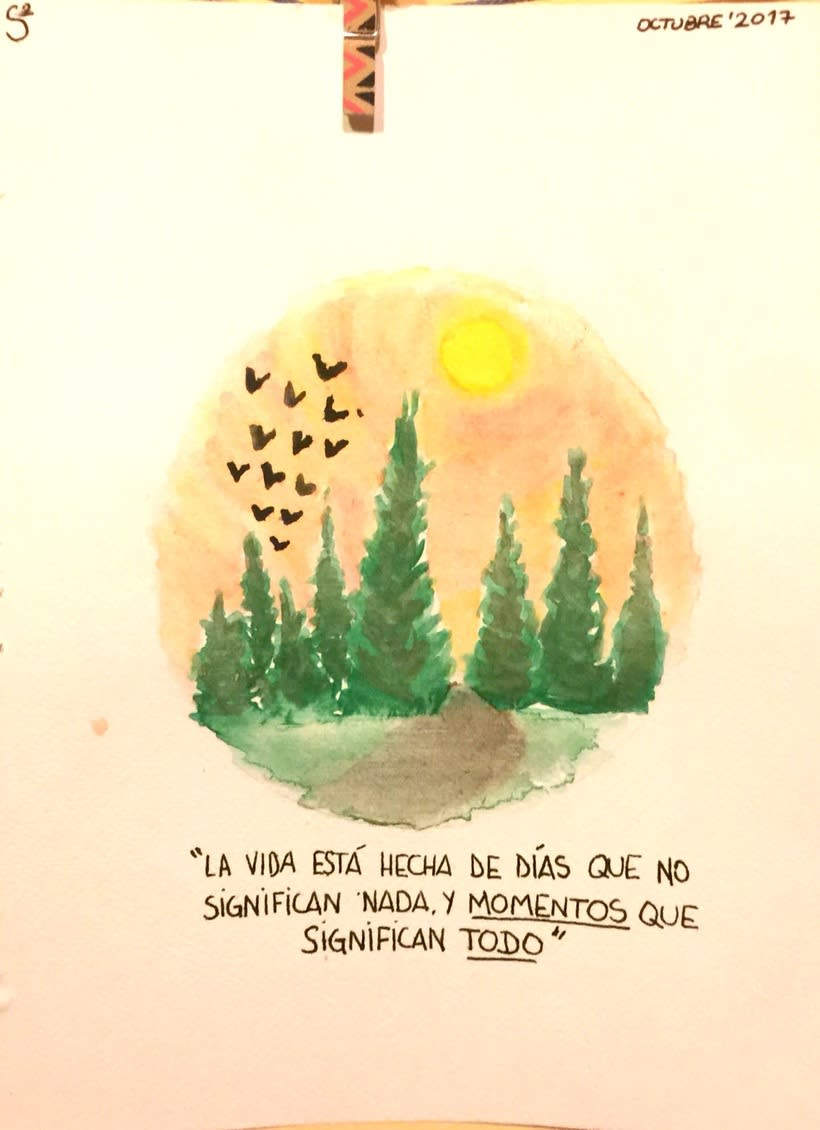 Watercolor, Lettering...provan! -1