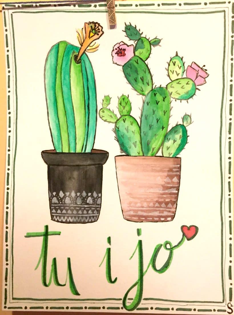 Watercolor, Lettering...provan! 0