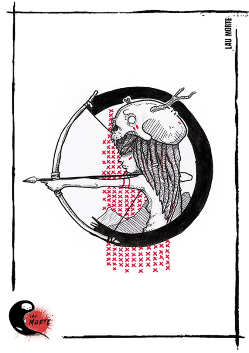 Vómitos creativos; Diseños para tatuar 8