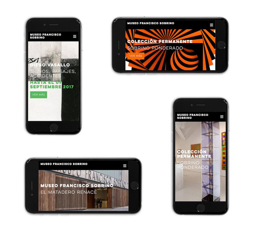 Branding y site de museo de arte cinético 1