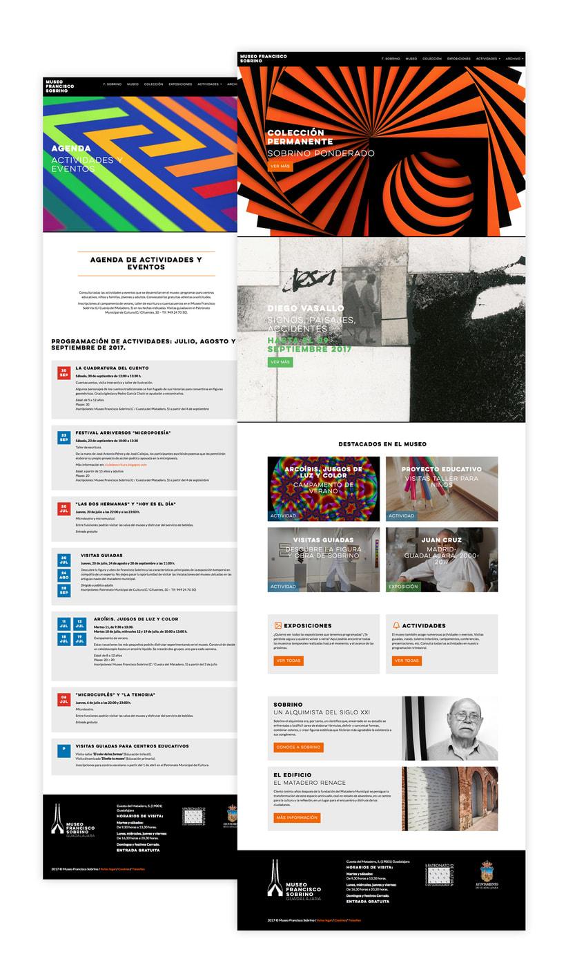 Branding y site de museo de arte cinético 2
