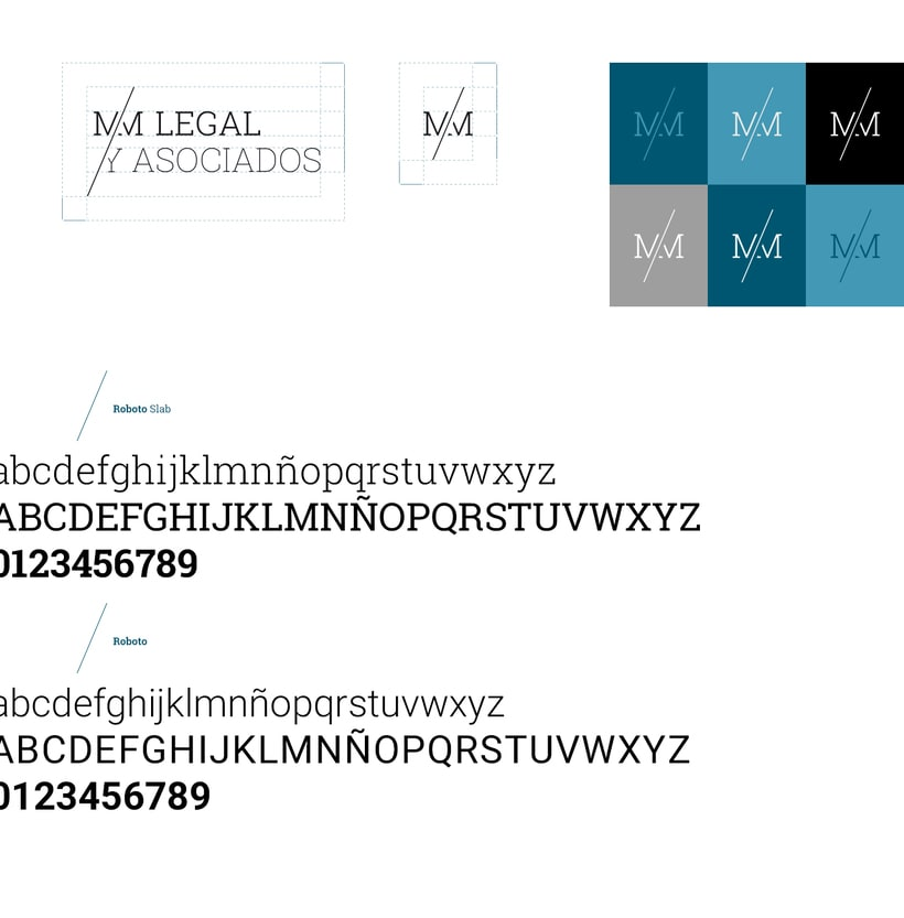 Branding y site corporativo para bufete de abogados 0