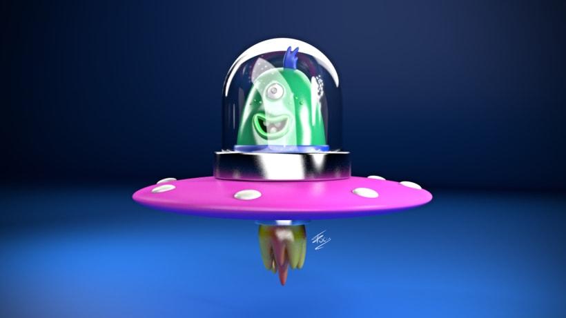 Alien - Motor de render físico de C4D -1