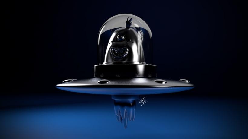 Alien - Motor de render físico de C4D 1
