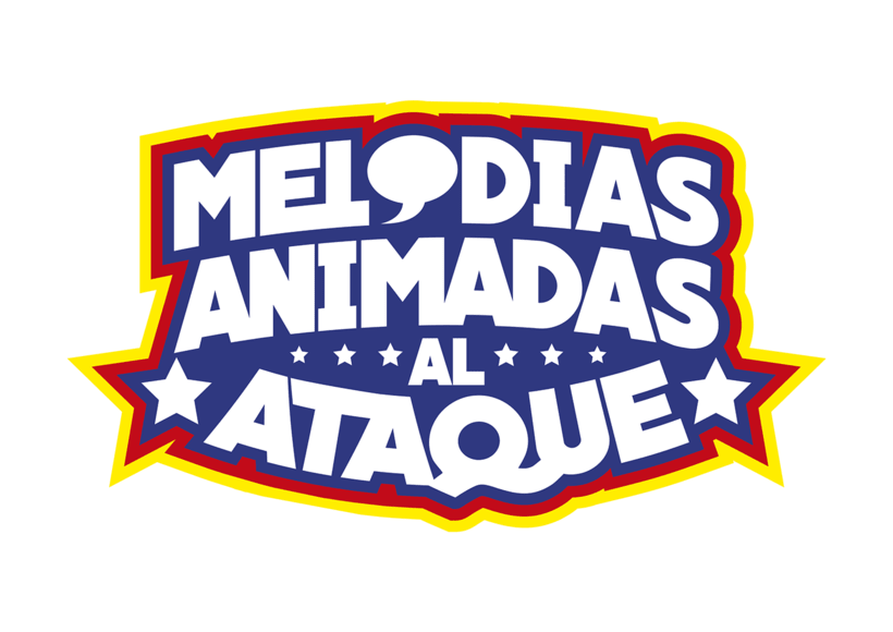 Melodías Animadas al Ataque - Logo 0