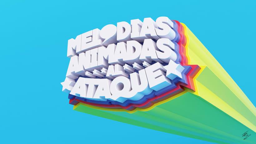 Melodías Animadas al Ataque - Logo 2