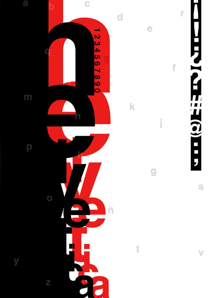 afiche tipográfico  -1