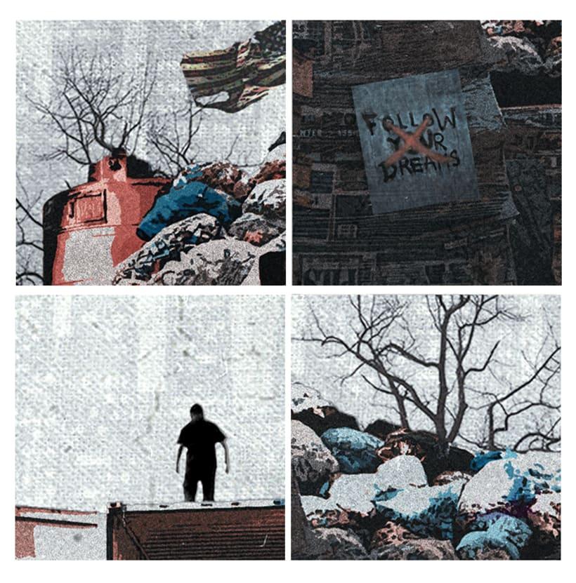 Gráfica para cortometraje - The Fourth Kingdom 2