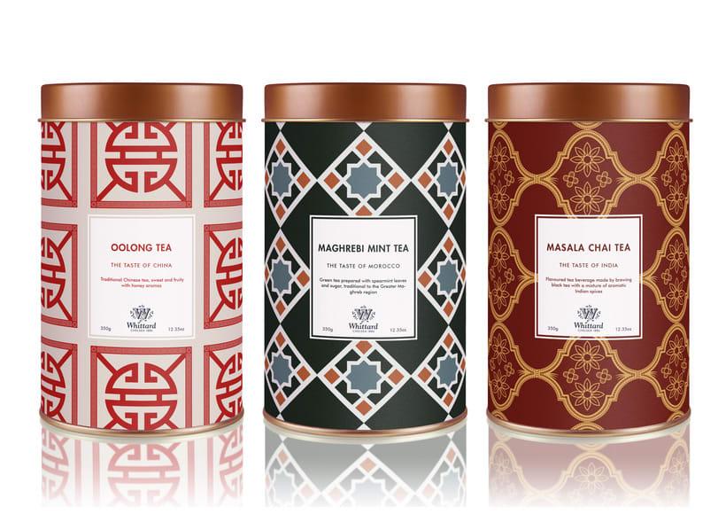 Packaging Whittard Tea -1
