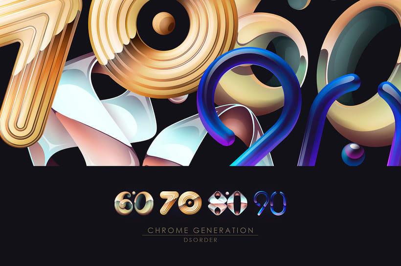 'Chrome Generation': cuatro décadas de diseño metalizado 1