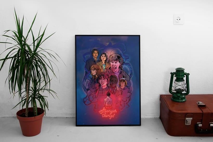 Stranger Things 2 - Fan art 3