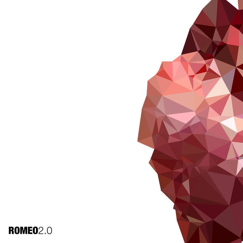 """Portada disco de ROMEO """"2.0"""" 0"""