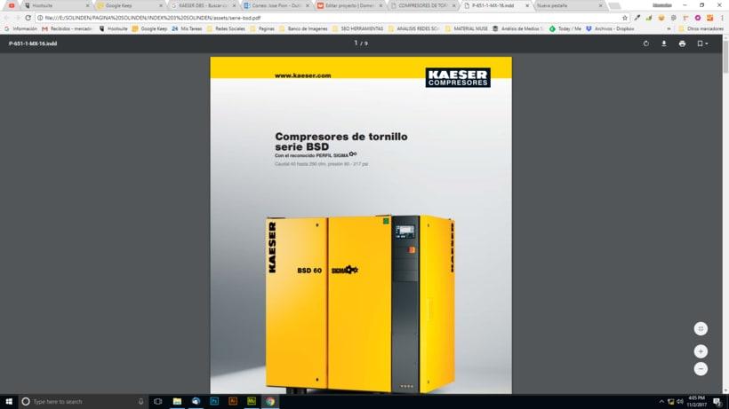 Mi Proyecto del curso: Diseño web responsive con Adobe Muse / Solinden Empresa de R.D 6