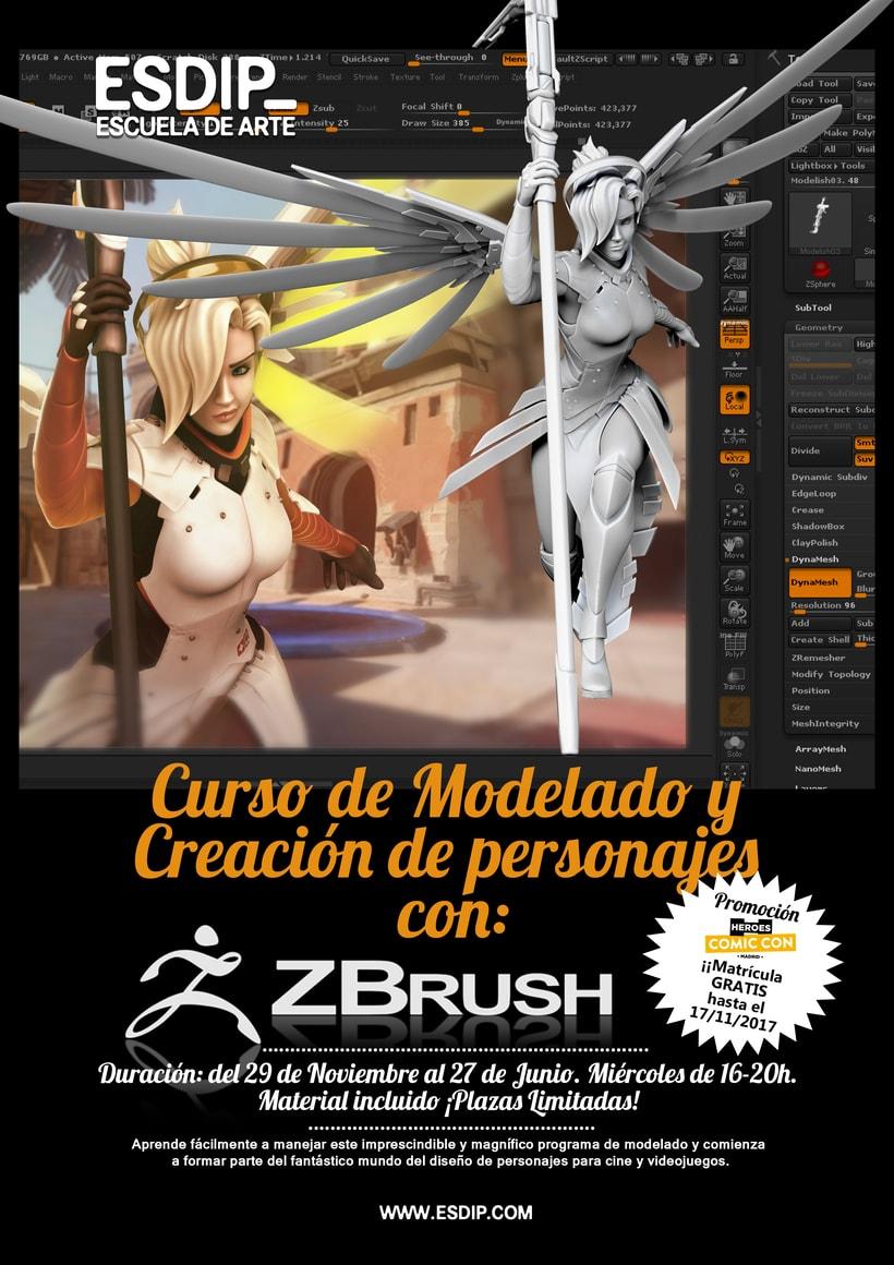 Intensivo de Modelado con ZBrush y Creación de Personajes 1