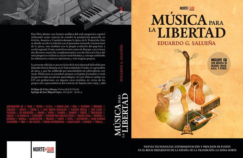 Portada libro: Música para la libertad 2