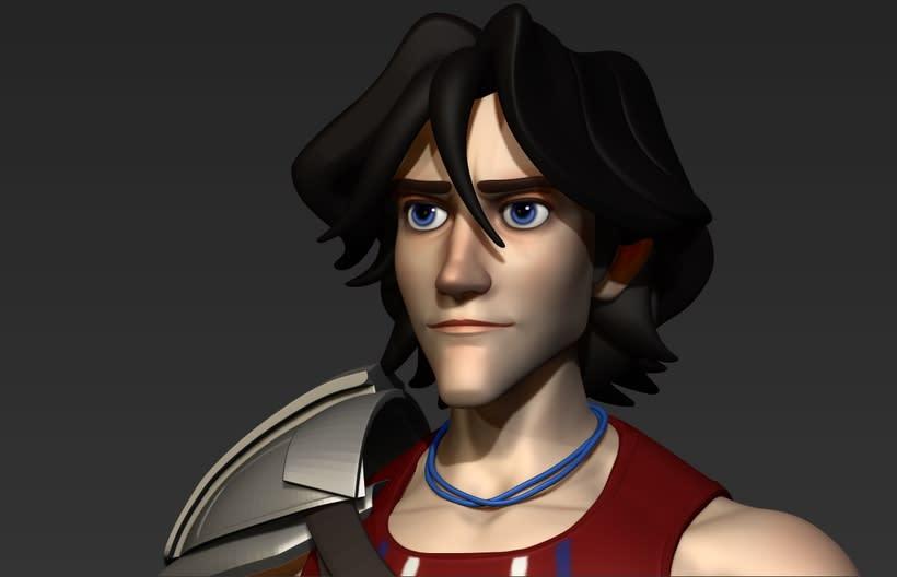 3D model character 1