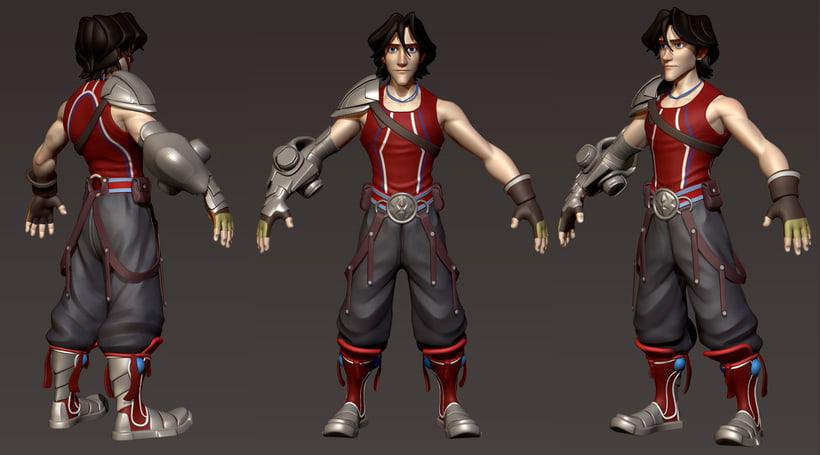 3D model character 2