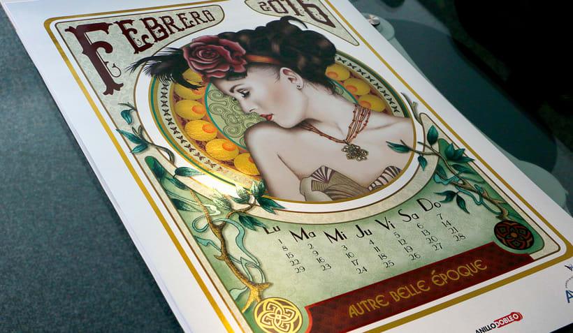 Mes febrero 2016 calendario Andigraf 1