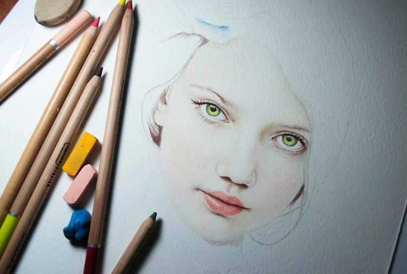 Ilustración lapices pastel -1
