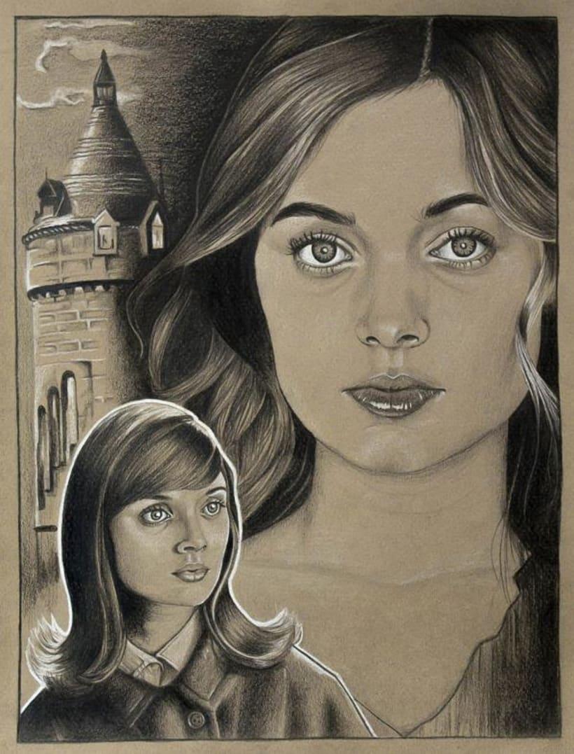 Varias ilustraciones a lápiz 3