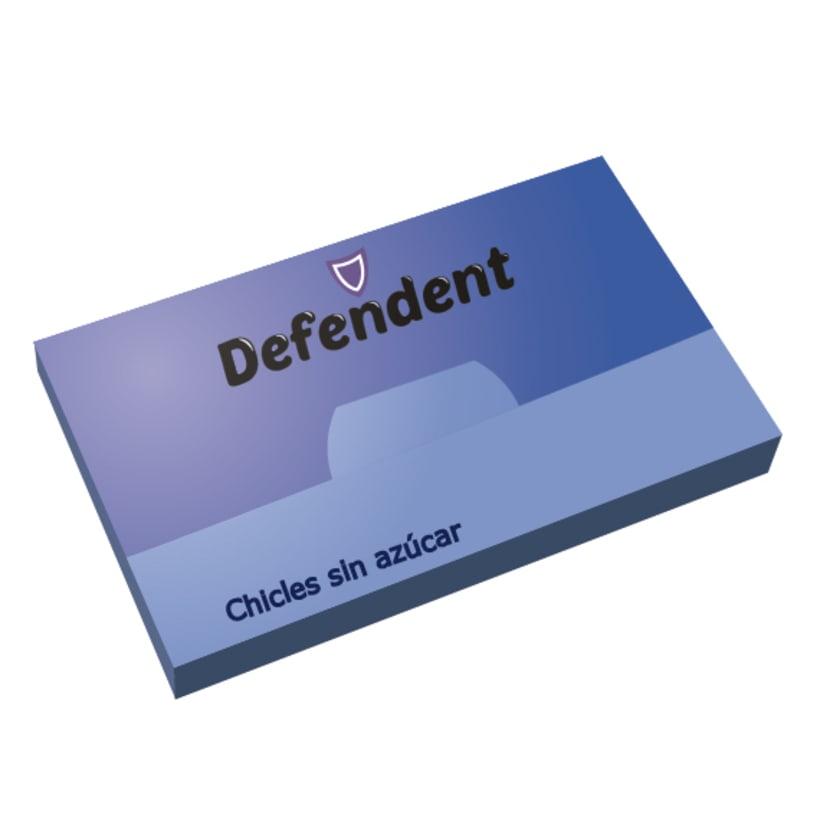 Logotipo Defendent 0