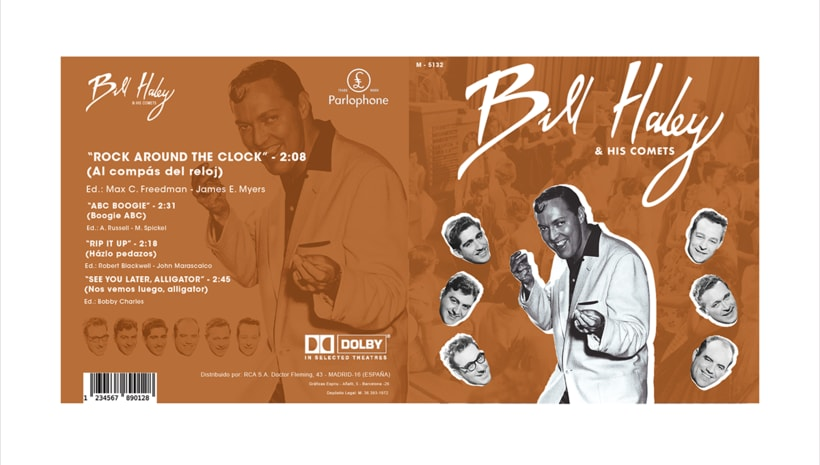 LP para Bill Haley & His Comets 4
