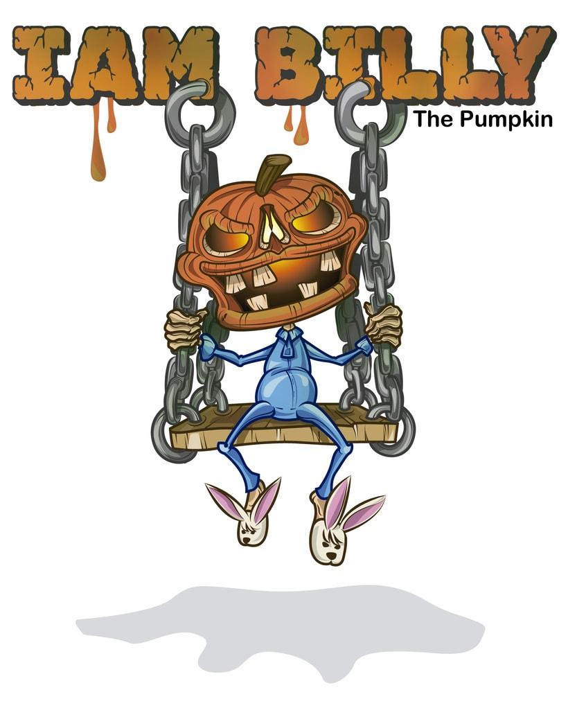 I'am Billy (the pumpkin) 3