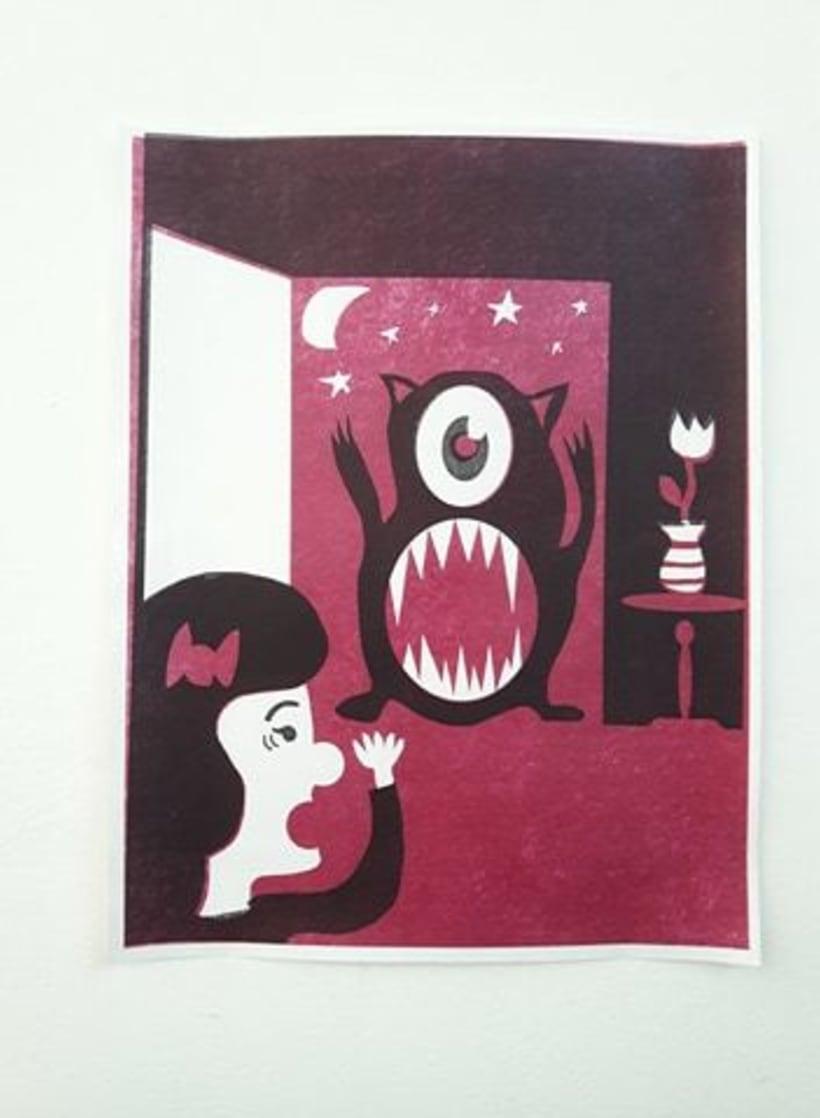 """Mi Proyecto del curso: Ilustración original de tu puño y tableta, canción """"Unfounded Revenge"""" 1"""
