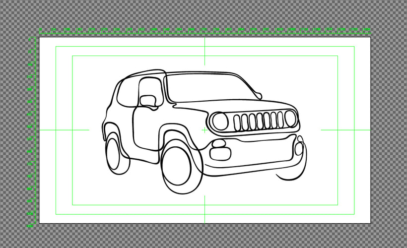 Drawing Jeep 1