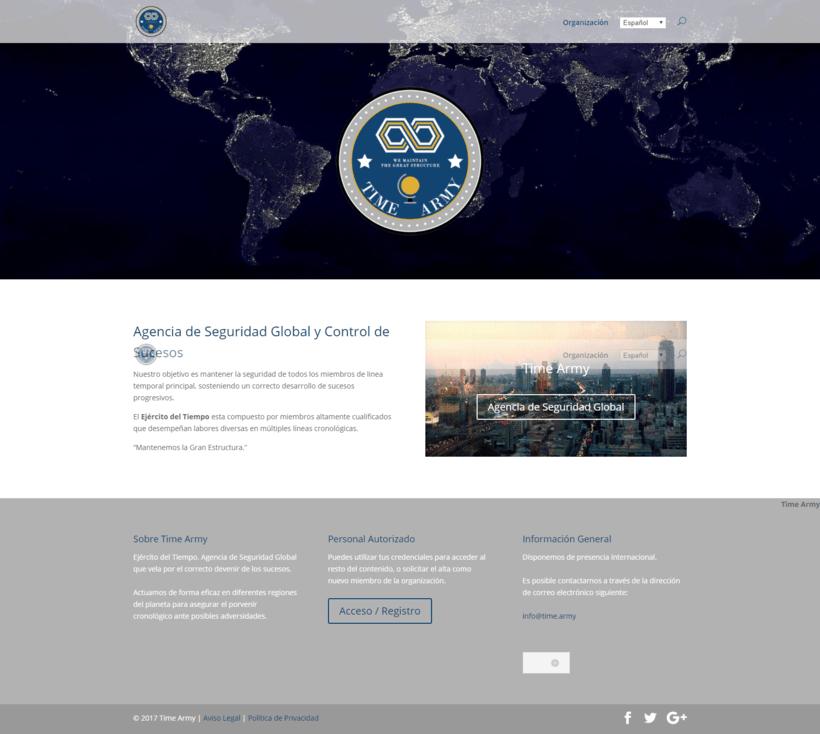 Ejército del Tiempo - Agencia de Seguridad Global 0
