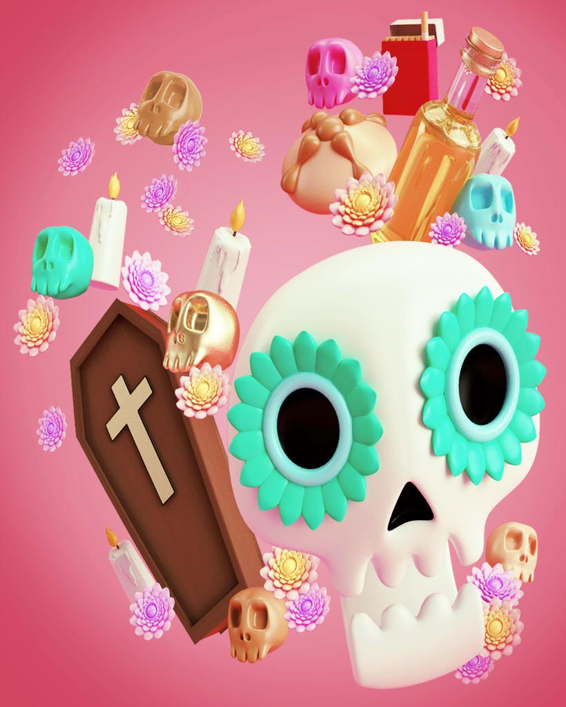Día de Muertos -1