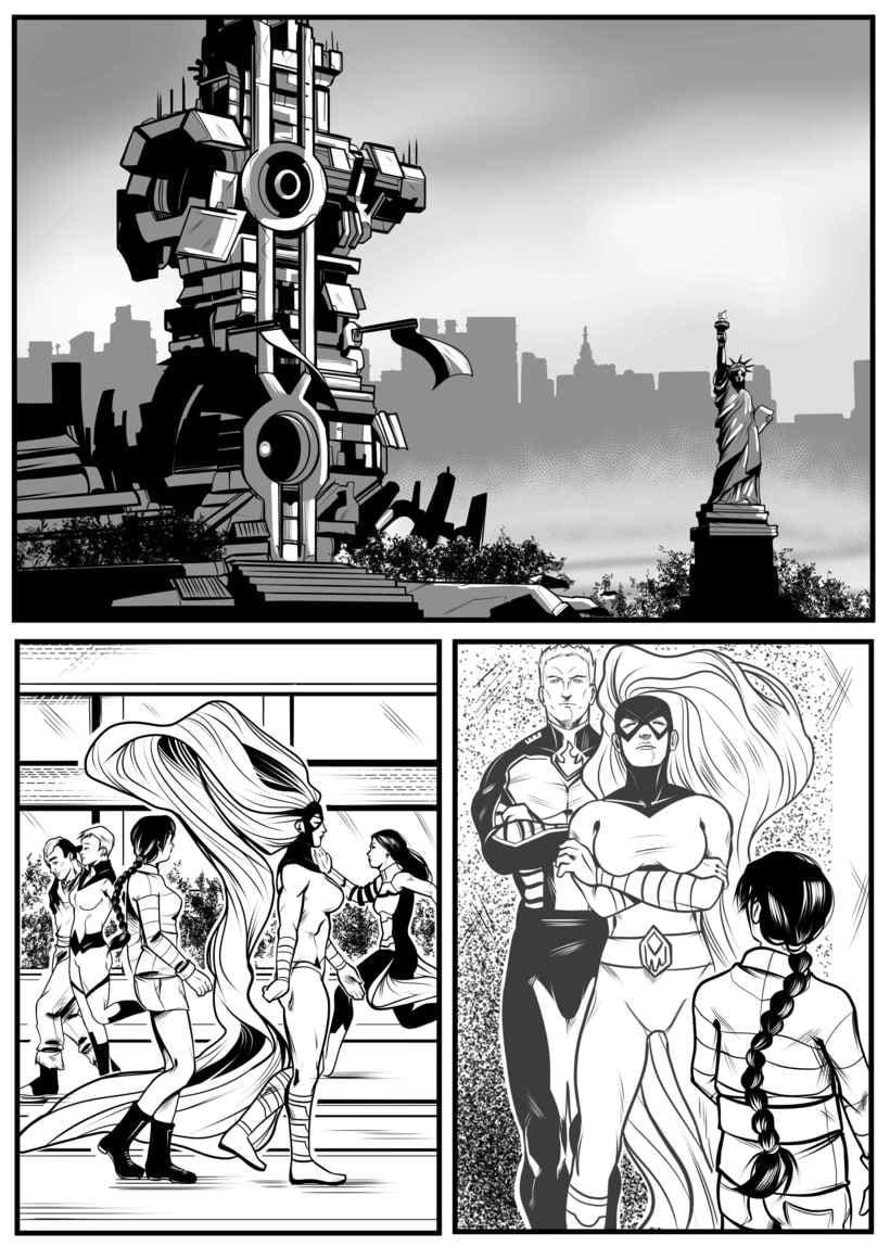Mi Proyecto del curso: El cómic de superhéroes: narrativa y realización gráfica 0