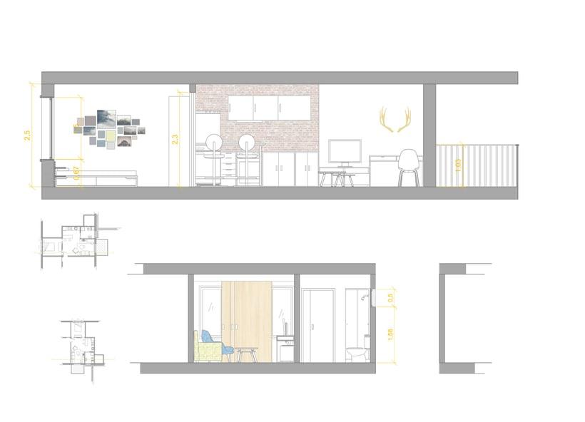 Vivienda mínima: apartamento de 36m2 2