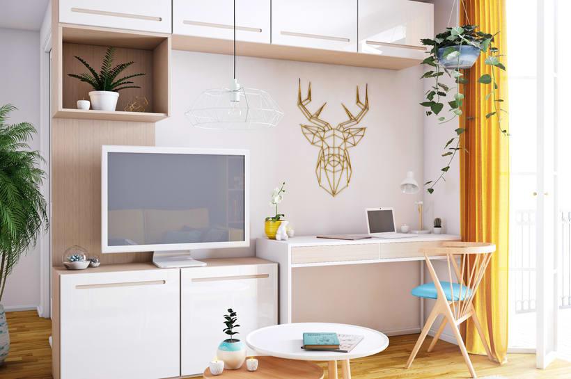 Vivienda mínima: apartamento de 36m2 3