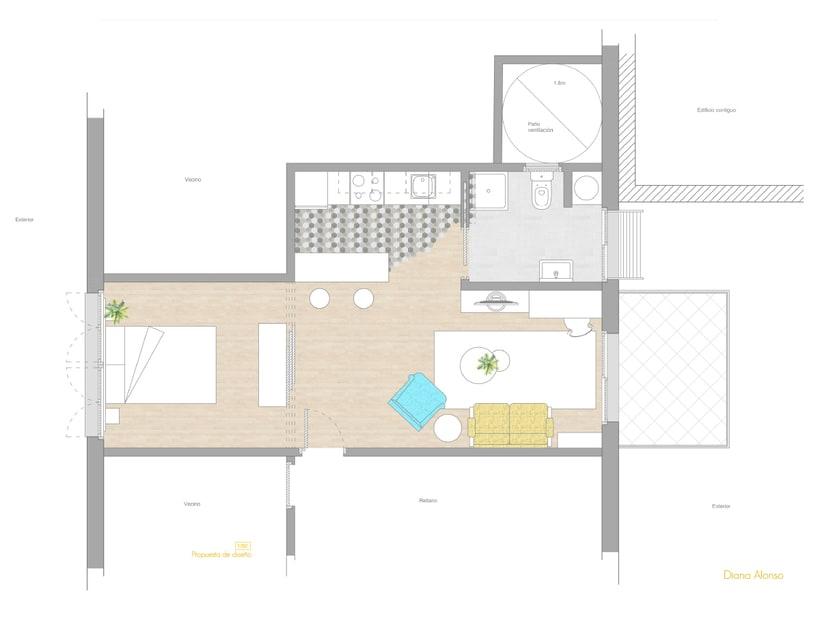 Vivienda mínima: apartamento de 36m2 4