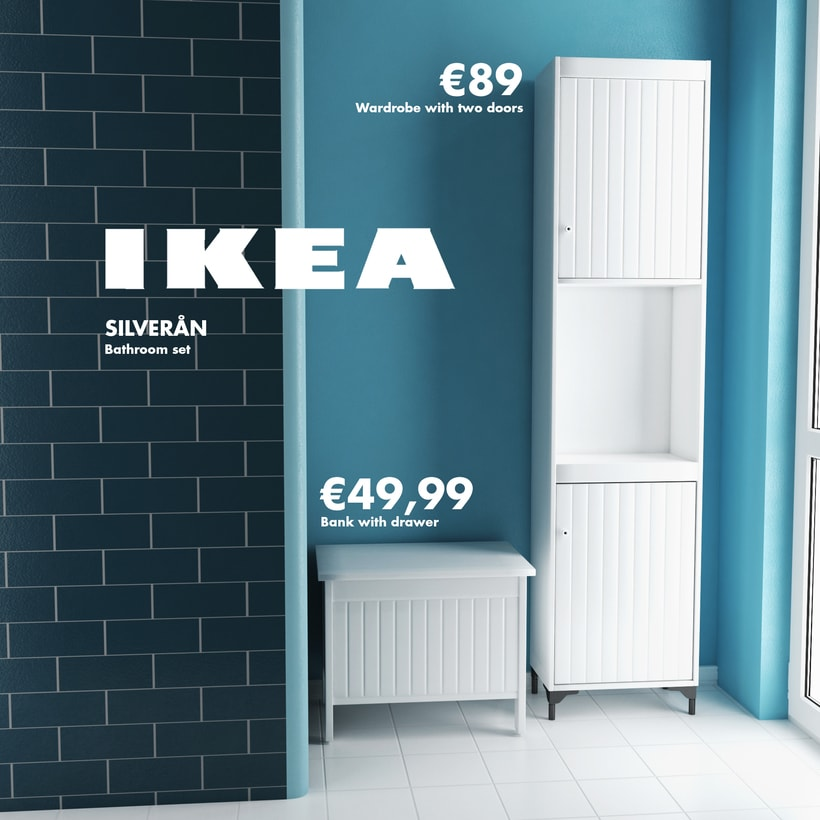 Infografía: Serie Silveran (baño) -1
